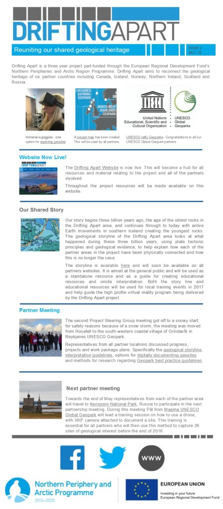 Newsletter Two